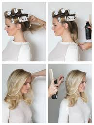 pageant style curling long hair how to hot roll your hair b e a u t y pinterest hot rollers