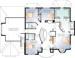 house plans european house plan 64847 at familyhomeplans com