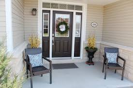 Curb Appeal Front Entrance - outdoor front entrance decorating ideas