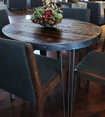 Dining Room Tables Denver Round Reclaimed Wood Dining Table
