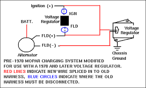 alternator wiring on twin mopar 318s the 1947 present
