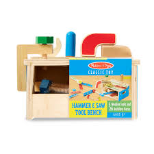 hammer and saw toy tool bench indoor play lehman u0027s