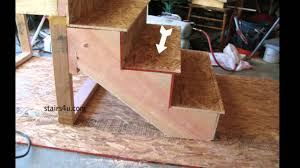Stair Tread by What Is A Stair Tread How To Build Stairs Youtube