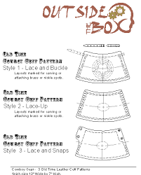free leather crafting patterns