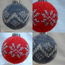 ravelry knit 8 fair isle inspired ornaments patterns