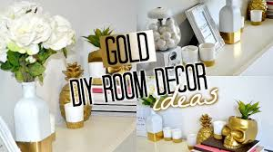 Bedroom Decor Diy by Diy Room Decor Gold Tobie Hickey Youtube