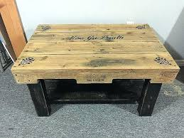 tables made from pallets coffee table made of pallets design pallet coffee table pallet