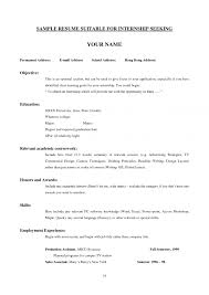 Best Resume Format For Engineering Students by Marvelous 5 College Student Resume Template For Internship