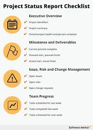Project Daily Status Report Template Excel Project Checklist Project Check List 8 Project List Templates