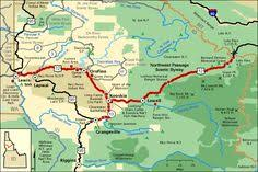 americas byways stevens pass greenway map america s byways travel