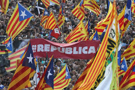 Flag Of Catalonia Spain Moves To Seize Control Of Catalan Government Call Regional