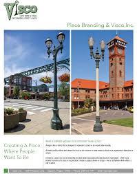 what is street light visco cast iron and steel decorative street lights