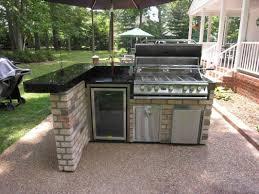 Best Laminate Countertop Outdoor Kitchen Storage Creamy Ceramic Tile Floor Built In Oven