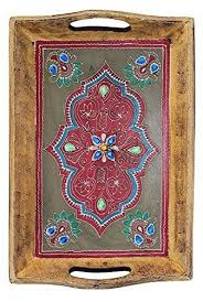 wooden serving tray indian rosewood sheesham handmade items on sale souvnear handmade wooden decorative