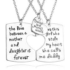 puzzle heart pendant necklace images Engraved puzzle pendant heart pendant necklace daddy mother jpg