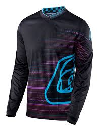 blue motocross gear 2017 troy lee designs electro tld mx gp motocross gear black