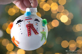 handprint ornament and diy ornament ideas the