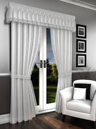 White Lined Curtains Lorna White Voile Lined Curtains Pelmet Sold Separate Net