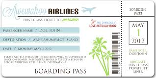 beautiful template example of airlines boarding pass ticket with