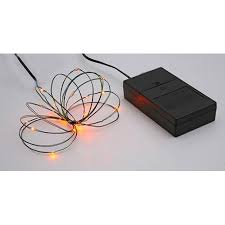 ultra thin wire led lights b o multi function ultra slim wire christmas light set 24 orange