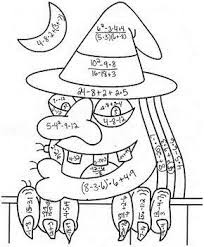 multiplication halloween coloring pages u2013 halloween wizard