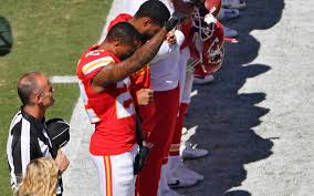 a raised fist and more kneeling players as colin kaepernick u0027s