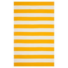 Yellow Striped Rug Yellow Area Rugs Target