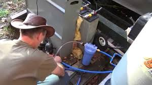 connecting off grid tiny house cold water plumbing youtube