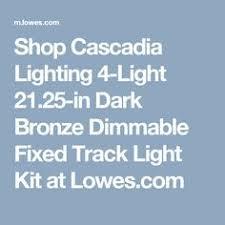 Shop Cascadia Lighting 4 Light - shop allen roth eastview 4 light 36 2 in oil rubbed bronze