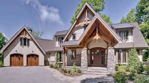 craftsman style timber frame house plans youtube