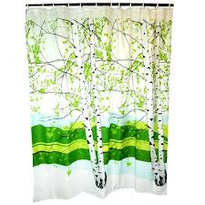 Shower Curtains With Trees Marimekko Unikko Grey Yellow Cotton Shower Curtain Intended For