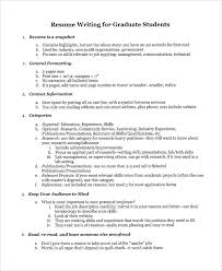 college graduate resume sle college graduate resume 8 free documents in word pdf