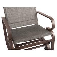 Outdoor Patio Rocking Chairs Amazon Com Naturefun Outdoor Patio Rocker Chair Balcony Glider