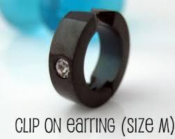 clip on earrings for men cross clip on earring mens earrings cross earrings clip