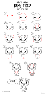 tiger how to draw a for coloring 4f bengal by