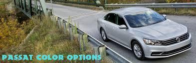 volkswagen passat color options and features