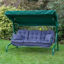 3 Seater Garden Swing Chair Outdoor Swing Replacement Seat Backyard And Yard Design For Village