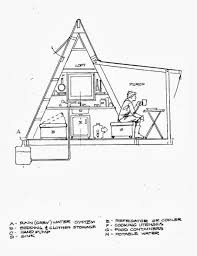 Cabin Plans by Free A Frame Cabin Plans Blueprints Construction Documents Sds