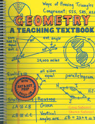 geometry a teaching textbook complete curriculum sabouri greg
