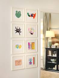 hanging picture frames ideas hanging paintings without frames alternatux com