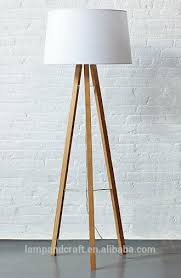 Easel Floor Lamp Saa New Product Natural Wooden Tripod Floor Lamp With Metal And