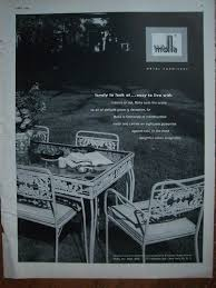 Vintage Patio Furniture Metal by 200 Best Retro Patio Images On Pinterest Iron Furniture Outdoor