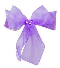 Purple Chair Sashes Organza Chair Sashes Archives Elegant Event Essentials