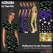 second life marketplace scrubs halloween scrubs set 1