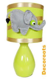 le de chevet chambre bébé le de chevet éléphant collection jungle enfant bébé luminaire