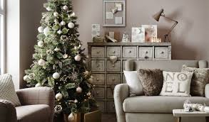 tesco christmas tree fairy lights home decorating interior