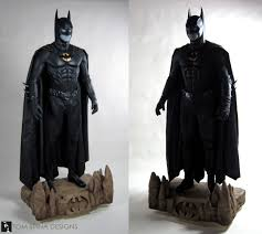batman costumes batman costume mannequin on bat signal display tom spina designs