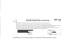 what does a tax exemption form look like u2013 groupraise com