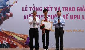 Apply Universal Postal Union International Letter Writing Eighth Grader Wins National Upu Letter Writing Contest