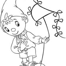 noddy awesome kite coloring pages bulk color